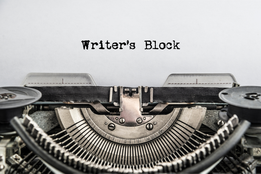 No Such Thing As.. Writer's Block